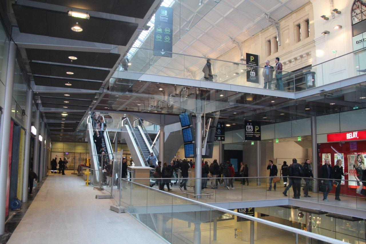 Coeur de Gare Saint Lazare