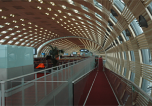 Aéroport CDG Voûte Jetée Terminal E