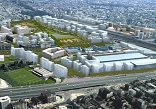 ZAC Cardinet Chalabre Et Clichy Batignolles Paris